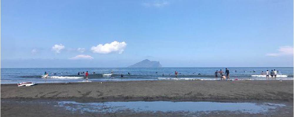 砂灘地形02